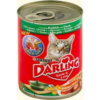 Darling 400 гр консерва c кроликом и уткой
