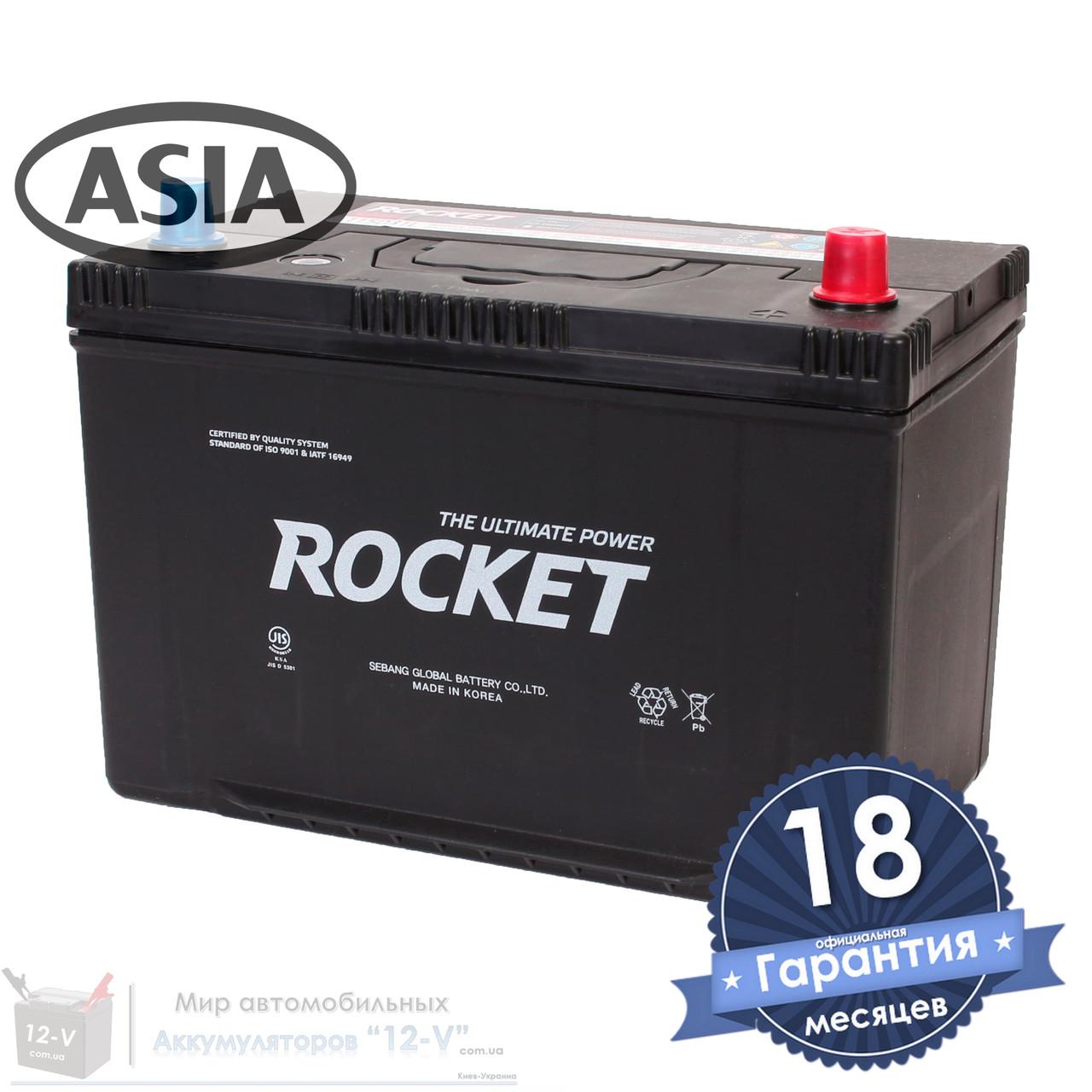 Аккумулятор автомобильный ROCKET 6CT 95Ah ASIA, пусковой ток 920А [–|+] (115D31L)