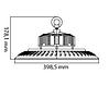 Светодиодный промышленный светильник Highbay ASPENDOS-200 200W 6400К подвесной IP65 Код.59283, фото 2