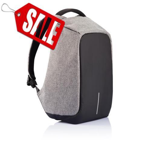 Рюкзак Bobby с защитой от карманников, серый