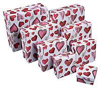 Коробка подарочная ООТВ Heart 10 х 10 х 5 см