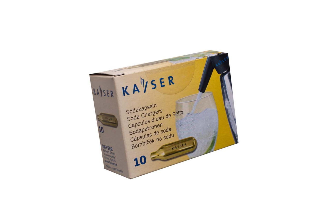 Баллончики для сифона Kayser 10 шт уп 00529, КОД: 176031