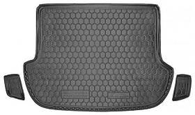 Коврик в багажник для Subaru Forester (2008-2013)  код 111389 Avto-Gumm