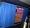 Шторки автомобильные Mercedes Sprinter/VW Crafter 06-, синий, фото 4