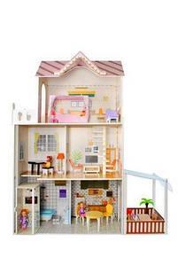Кукольный дом - вилла деревянный KRUZZEL 9152