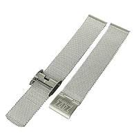 Ремешок для часов Ziz из нержавеющей стали серебро - R142798