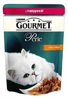 Gourmet Perle (Гурмет Перл) пауч говядина 85г