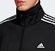Мужской спортивный костюм Adidas (Адидас) черного цвета с лампасами, фото 2