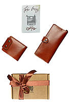 Набор для женщин BlankNote ИЛЬ-ДЕ-ФРАНС (портмоне,портмоне,открытка) BN-set-access-33