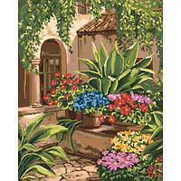 """Картина по номерам """"Волшебный дворик"""" КНО3547"""