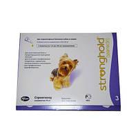 PFIZER Стронгхолд (Stronghold) капли для маленьких собак (2,5 - 5,0 кг), 30 мг. 1пипетка