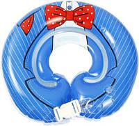 Круг для купання немовлят LN-1566 синій