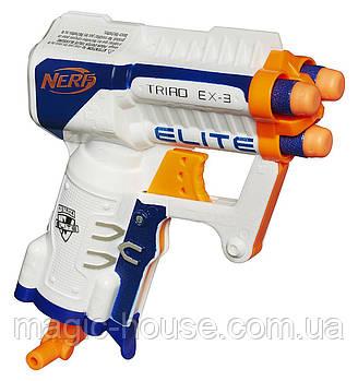 Бластер Нерф Еліт Тріад Nerf N-Strike Elite Triad EX-3 Blaster