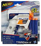 Бластер Нерф Элит Триад Nerf N-Strike Elite Triad EX-3 Blaster, фото 2