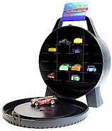 Кейс на 30 машинок Хот Вилс Hot Wheels 30-Car Storage Case, фото 2