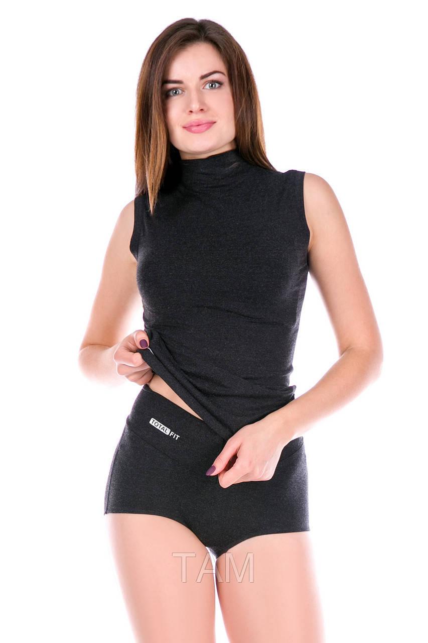 Женские термошорты Totalfit Light TH320-V9 XS Темно-серый