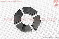 Демпферная резинка заднего литого колеса (к-кт 4шт)