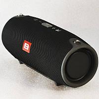 """Колонка беспроводная  портативная  большая Bluetooth """"B"""" XERTMT Big Чёрный"""