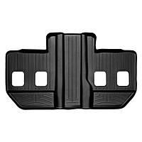 Коврики в салон для Cadillac Escalade 2007- с бортиком черные задние 3 ряд ESV 440665