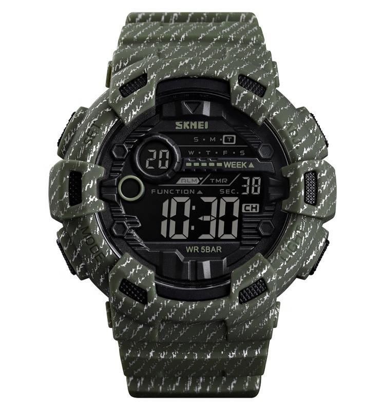 Skmei 1472 Champion зеленые мужские часы