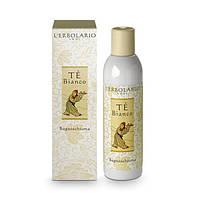 Lerbolario. Пена для ванн-гель для душа Белый Чай, 200мл (8022328107430)