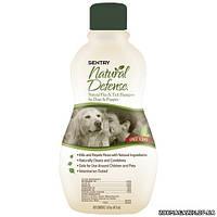 SENTRY (Сентри) Natural Defense Натуральная защита шампунь против блох и клещей для собак и щенков, 355мл