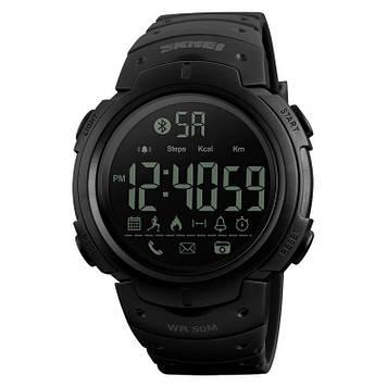 Skmei 1301 черные спортивные женские часы