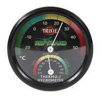 Trixie аналоговый термо/гигрометр для террариума