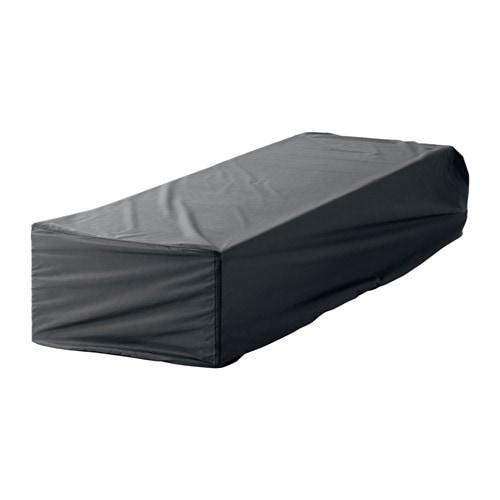 ИКЕА (IKEA) ТОСТЕРО, 702.923.21, Чехол для шезлонга, черный, 200x60 см - ТОП ПРОДАЖ