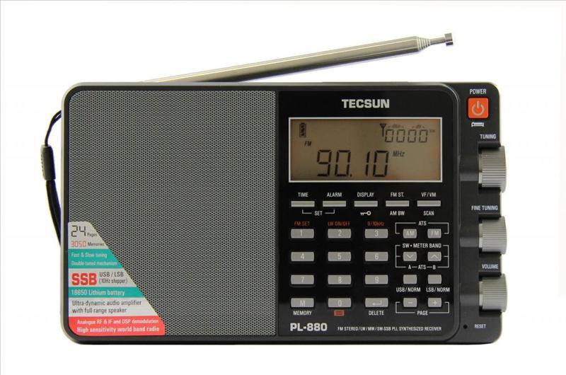 Радіоприймач TECSUN PL-880