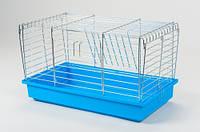 Клетка для грызунов КРОЛИК-50 G074 хром 50 см. Интер-зоо