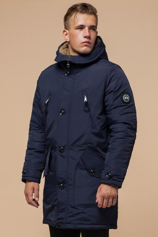 Мужская зимняя длинная куртка, фото 1