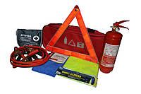 Автомобильный набор техпомощи AVTM (красный)