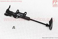 Насос МТВ пластмассовый с узким манометром, Т-ручкой, черный SPM-1961P