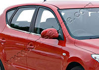 Hyundai i30 5D (2007-2011) Молдинги стекол нижние 8шт