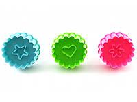 Набор плунжеров Сердце, Звезда, Цветок, фото 1
