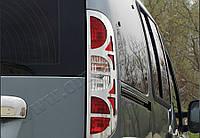 Fiat Doblo (2006-) Окантовка на стопы 2шт