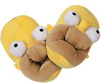 Плюшевые домашние тапочки Гомер, фото 1