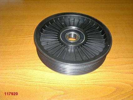 Шкив компрессора кондиционера Aveo, Lacetti, Китай (96183113) без болта