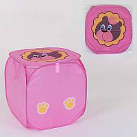 Корзина для игрушек С 36579 120 45х46см, в полиэтиленовой упаковке - 183625