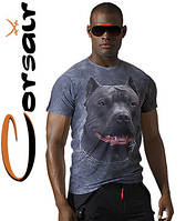 4D модные футболки Corsair 100 (мраморно-дымчатый)