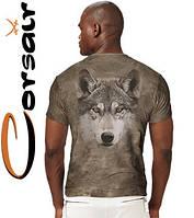 4D фирменные футболки Corsair 213 (темное золото)