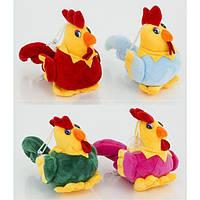 Мягкая игрушка 059 Петух 14 см, 4 цвета, Цена ЗА 1 ШТ, 12 шт в упаковке - 184559