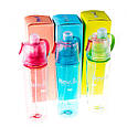 Бутылка для воды NewB, распылитель, 400мл, цвета в ассортименте, фото 2