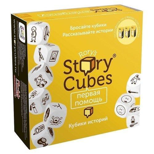 """Настольная Игра Asmodee Кубики Историй Rory's Story Cubes """"Первая помощь"""" (3558380067160)"""