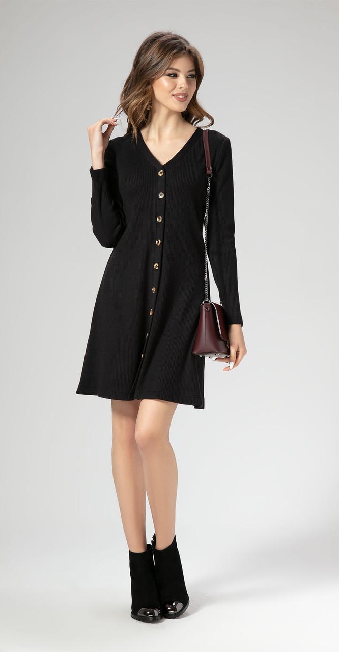 Платье Panda-461380 белорусский трикотаж, черный, 42