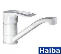 Смесители для умывальника Haiba Hansberg 004-15 White