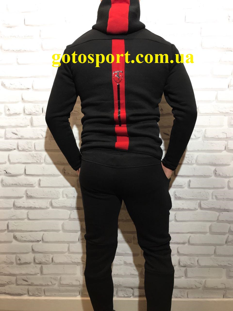 Теплый мужской спортивный костюм Puma Ferrari