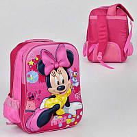 Рюкзак школьный с 2 отделениями и 2 карманами, мягкая спинка - 186082