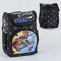 Рюкзак школьный каркасный с 1 отделением и 3 карманами, спинка ортопедическая, 3D принт SKL11-186117